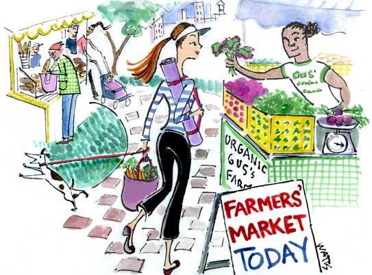 YogaCityNYC farmers market copy