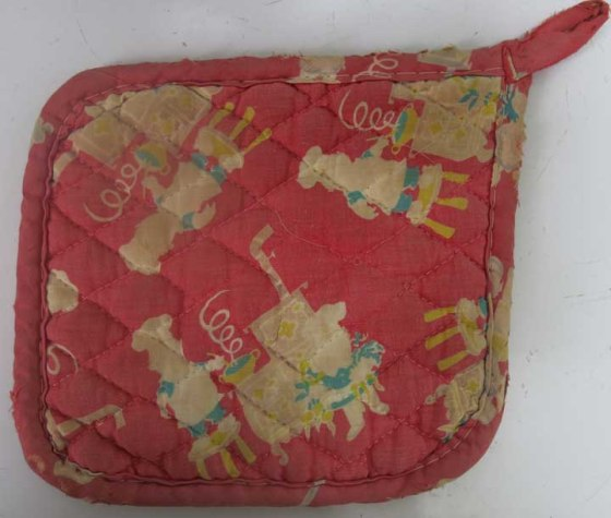 Campbells Kids pot holder