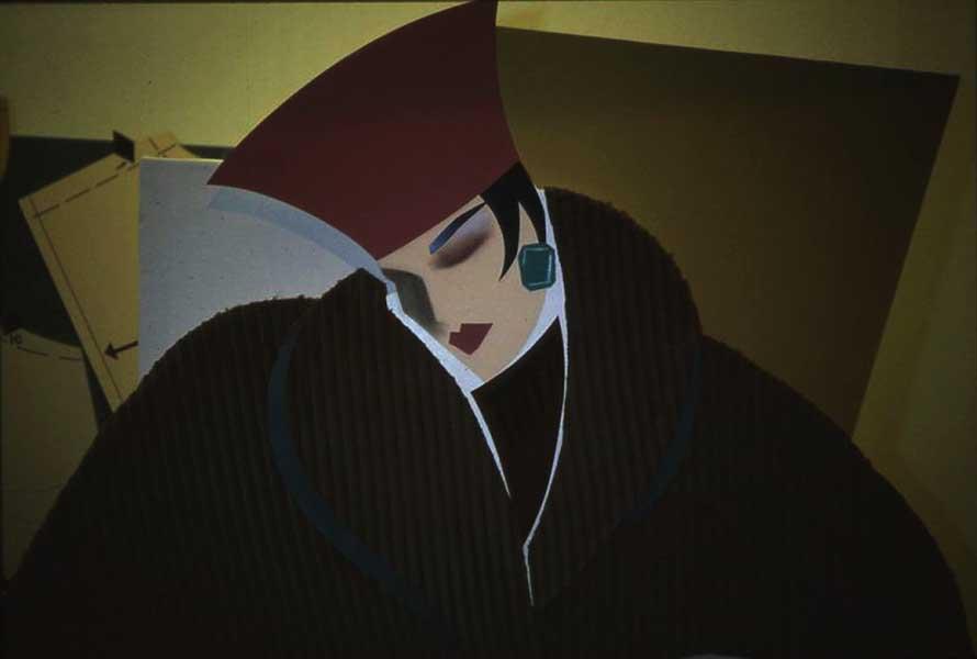 Ilsa - fabric collage - 72