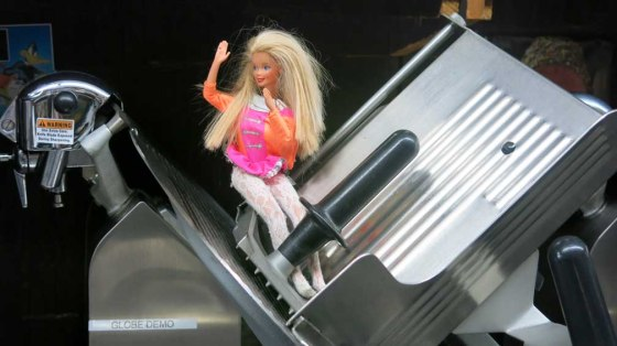Barbie in slicer