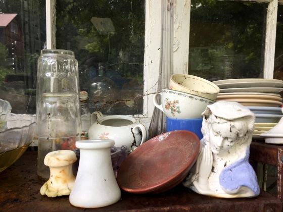 still life w: madonna porcelain